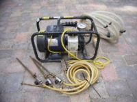 Damp Injection Pump for Hire in Oldham, Rochdale and Manchester